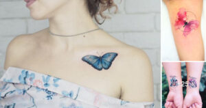 La colección mas grande de Imagenes de Tatuajes de Mariposas