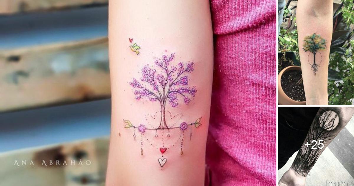 Las Mejores 61 Ideas de Tatuajes Inspiradas en Árboles