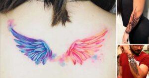 50 Increíbles Tatuajes de Alas de Tamaño Mediano