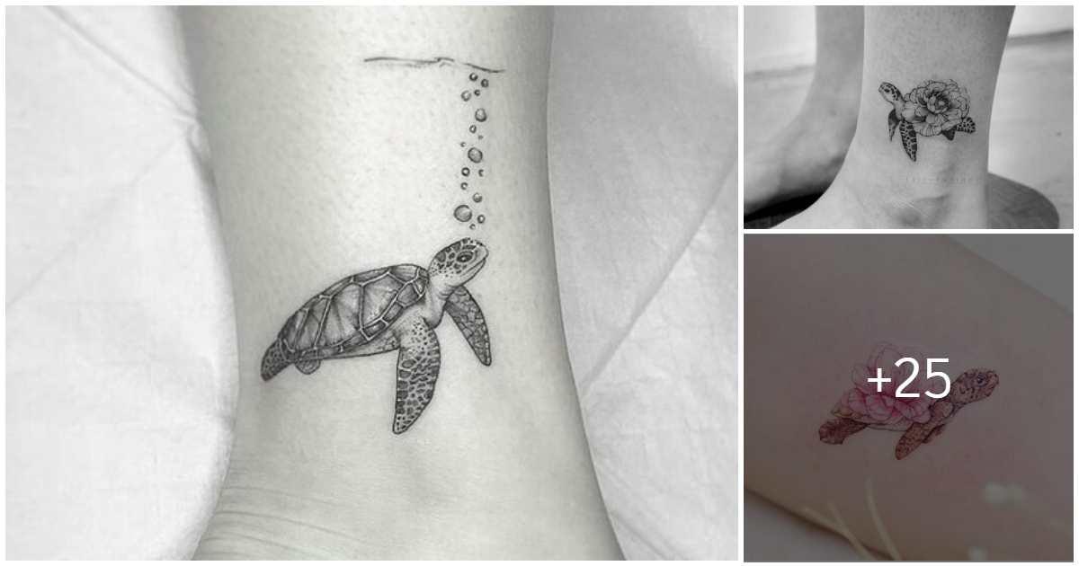 En este momento estás viendo Los Mejores Diseños de  Tatuajes de Tortugas y su Significado