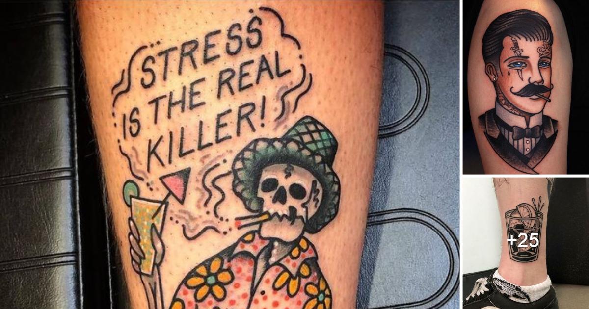 20 Increíbles Diseños de Tatuajes de la Vieja Escuela