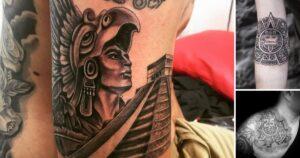25 Diseños de Tatuajes Inspirados en la Cultura Azteca