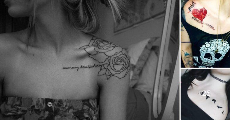 30 Creativos Diseños de Tatuajes en el Hombro