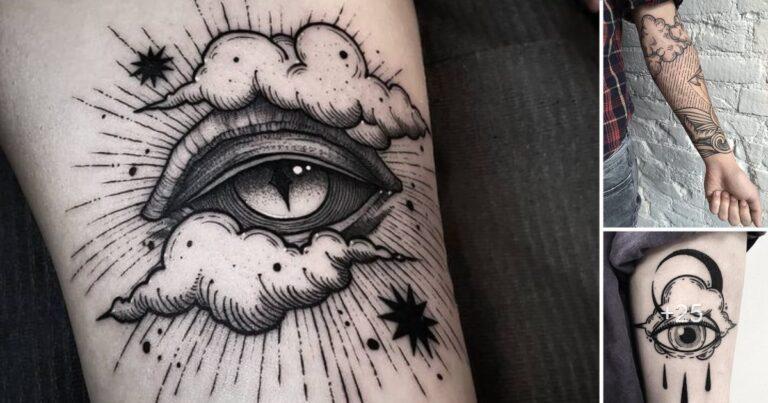 25 Ideas Creativas de Tatuajes de Nubes y su Significado