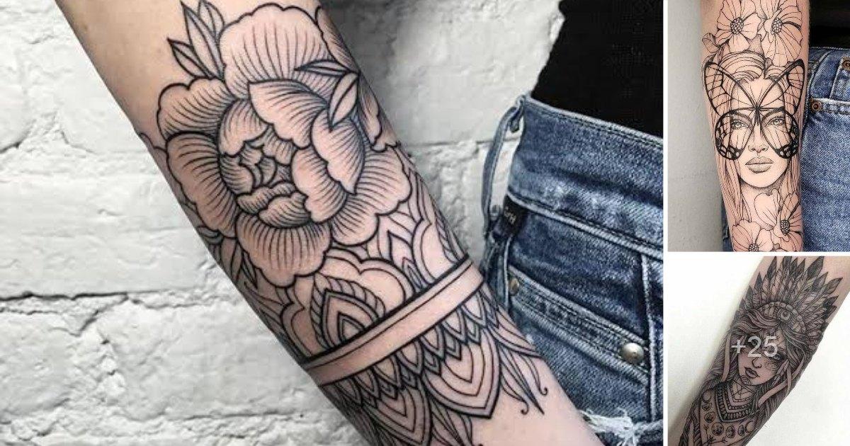 Las Mejores Ideas y Diseños de Tatuajes para el antebrazo