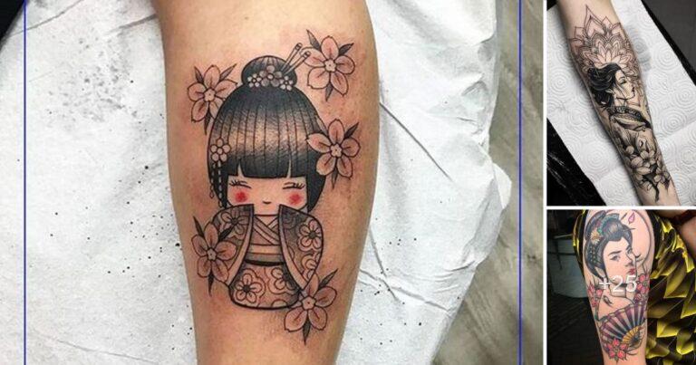 30 Ideas deTatuajes de Geisha y sus Significados