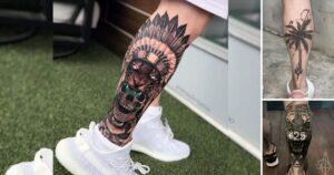 Los 35 Mejores Diseños de Tatuajes en la Pantorrilla