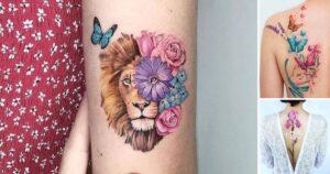 45 Ideas Geniales de Tatuajes Para Mujeres