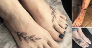 Mas de 30 Increíbles Ideas de Tatuajes en los Pies