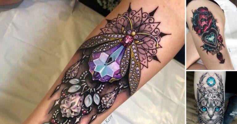 25 Diseños Geniales de Tatuajes en Forma de Joyas