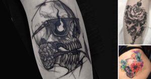 Increíbles Diseños de Tatuajes de Craneos