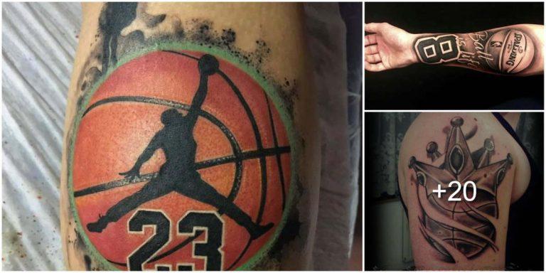 Tatuajes Inspirados en el básquetbol