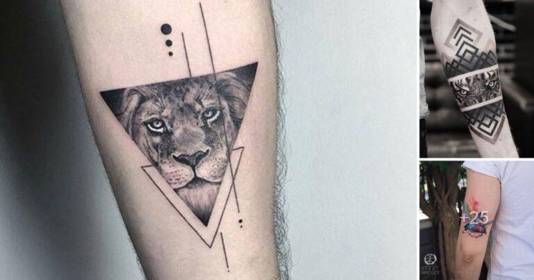 25 Diseños de Tatuajes en Forma de Triangulos