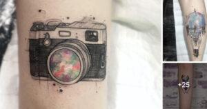 Ideas de Tatuajes Creativas en varias zonas del cuerpo