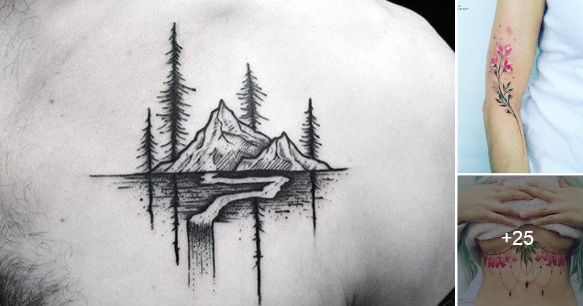 Tatuajes para los Amantes de la Naturaleza