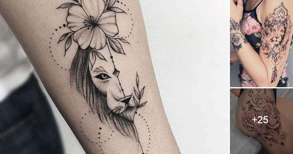 Epicos Tatuajes de Leones