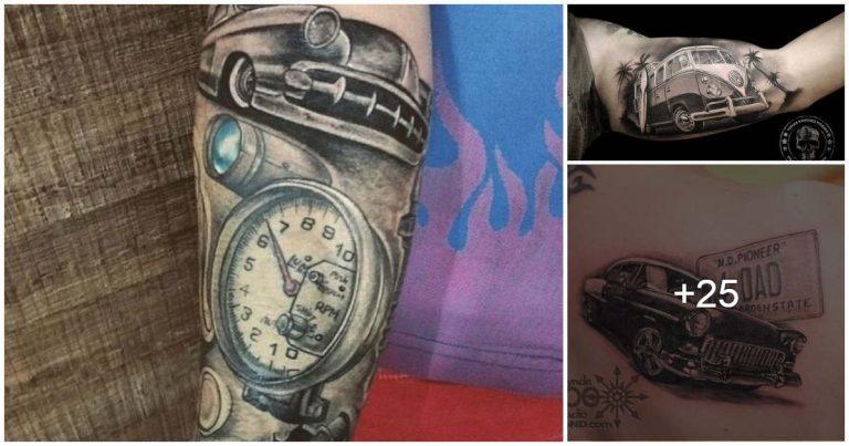 Lee más sobre el artículo Tatuajes de Autos