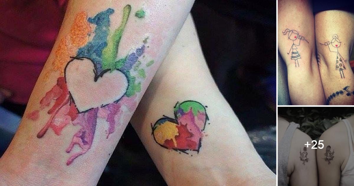 Ideas de Tatuajes Madre & Hija