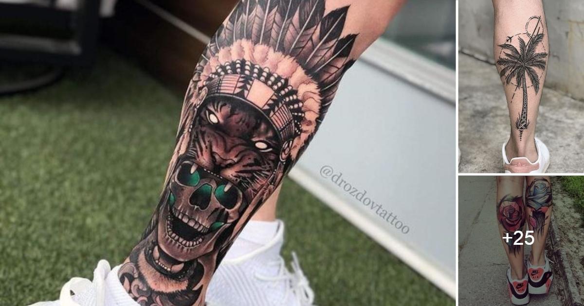 Ideas de Tatuajes en la Pantorrilla