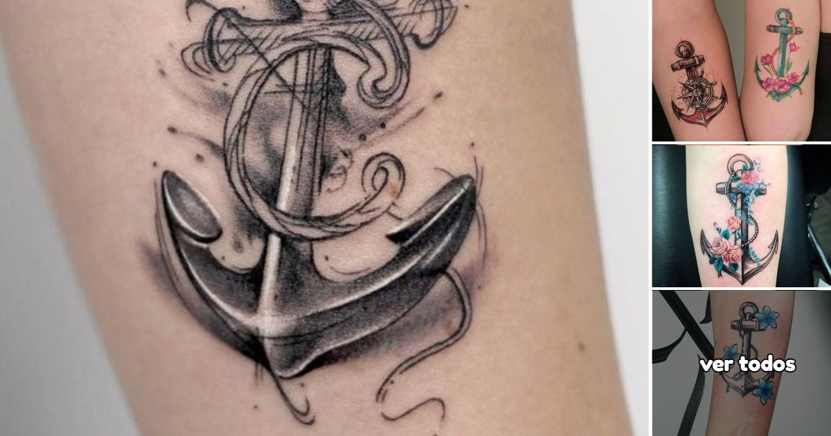 Ideas de Tatuajes con Anclas
