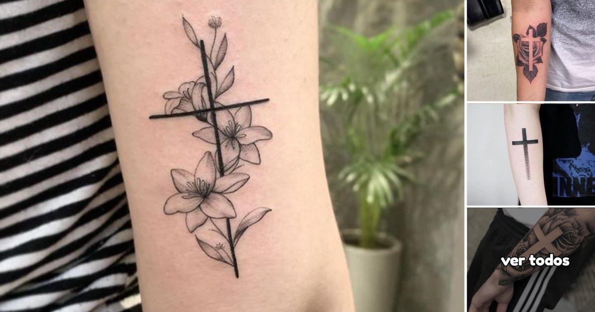 Ideas de Tatuajes con Cruces