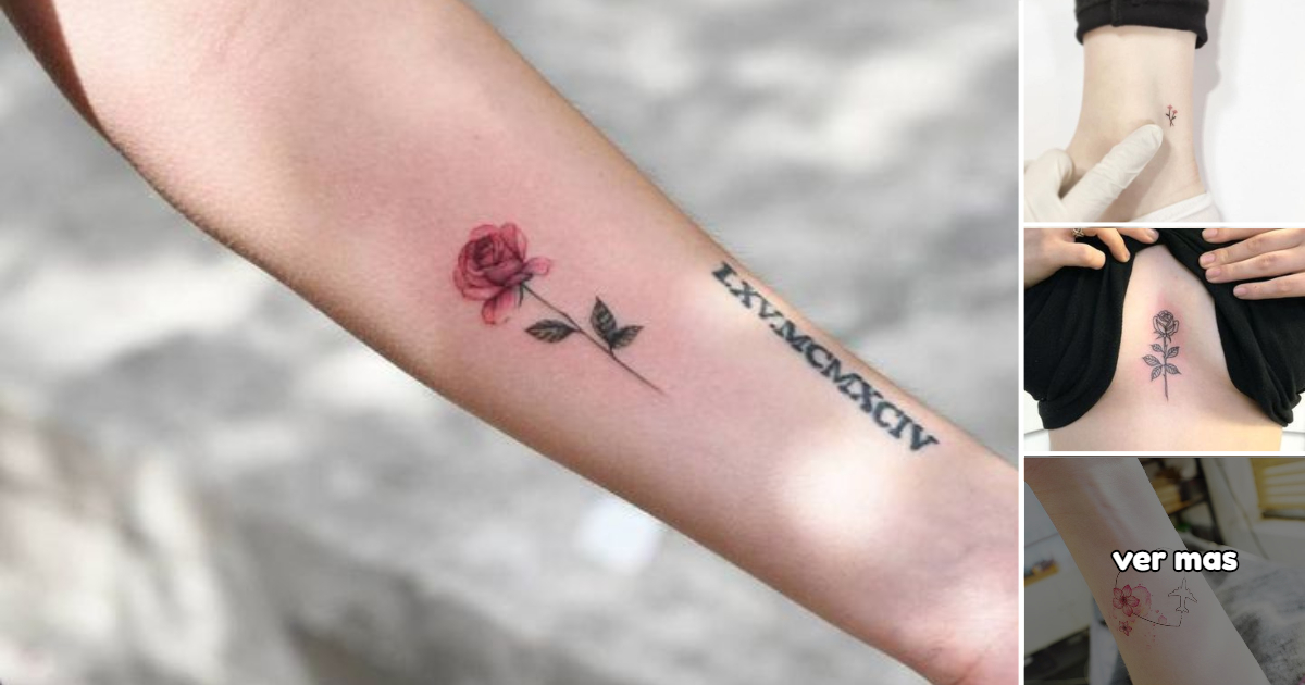 Ideas de Tatuajes con Flores Pequeñas