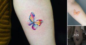Ideas de Tatuajes con Mariposas