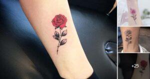 Lee más sobre el artículo Ideas de Tatuajes con Rosas Pequeñas