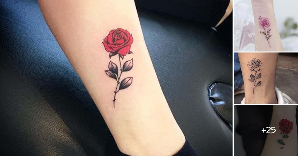 Ideas de Tatuajes con Rosas Pequeñas