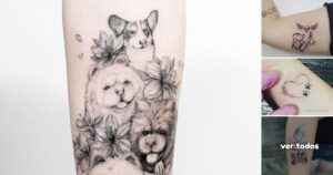 27 Ideas de Tatuajes para Amantes de los Perritos