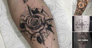 Lee más sobre el artículo Ideas de Tatuajes con Brújulas