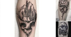 Los Mejores 25 Diseños de Tatuajes de Cráneos