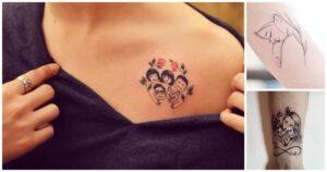 25 Diseños de Tatuajes Inspirados en la Maternidad