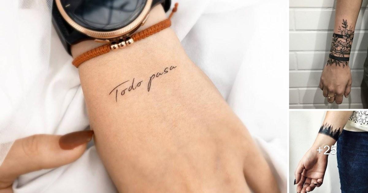 25 Diseños Inspiradores de Tatuajes en las Muñecas