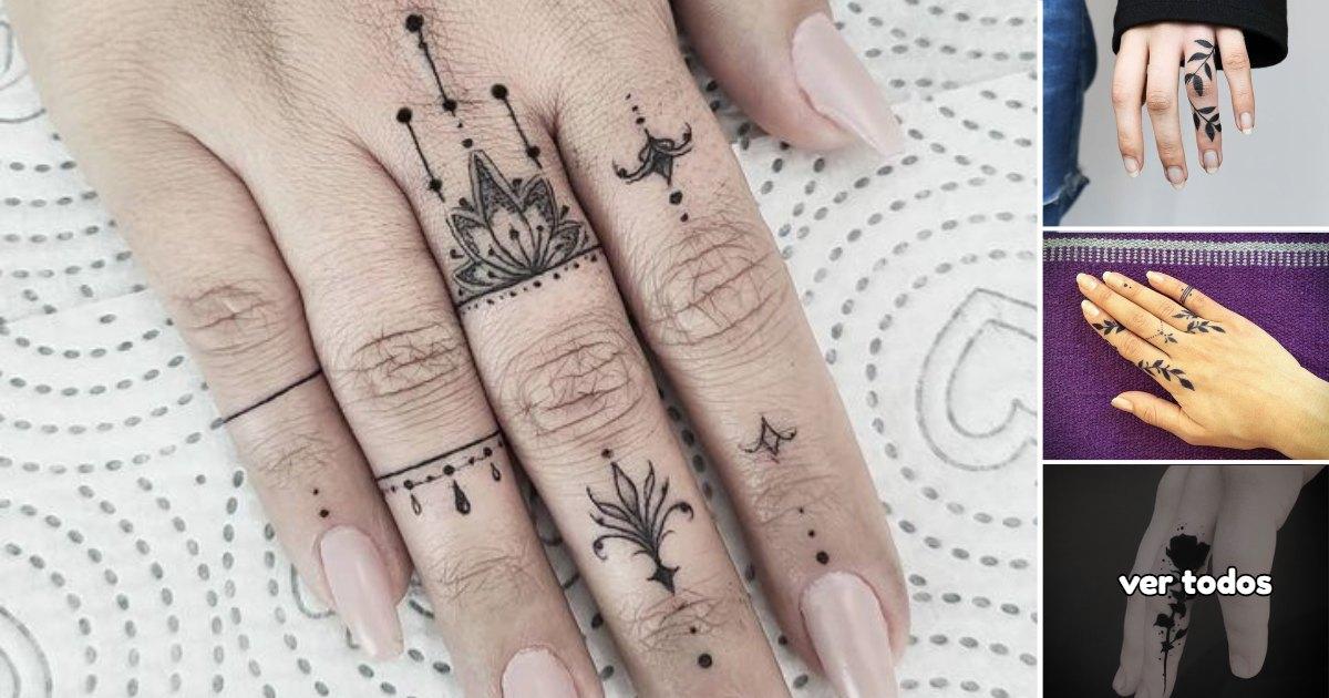 En este momento estás viendo 40 Ideas de Tatuajes en los dedos súper lindos