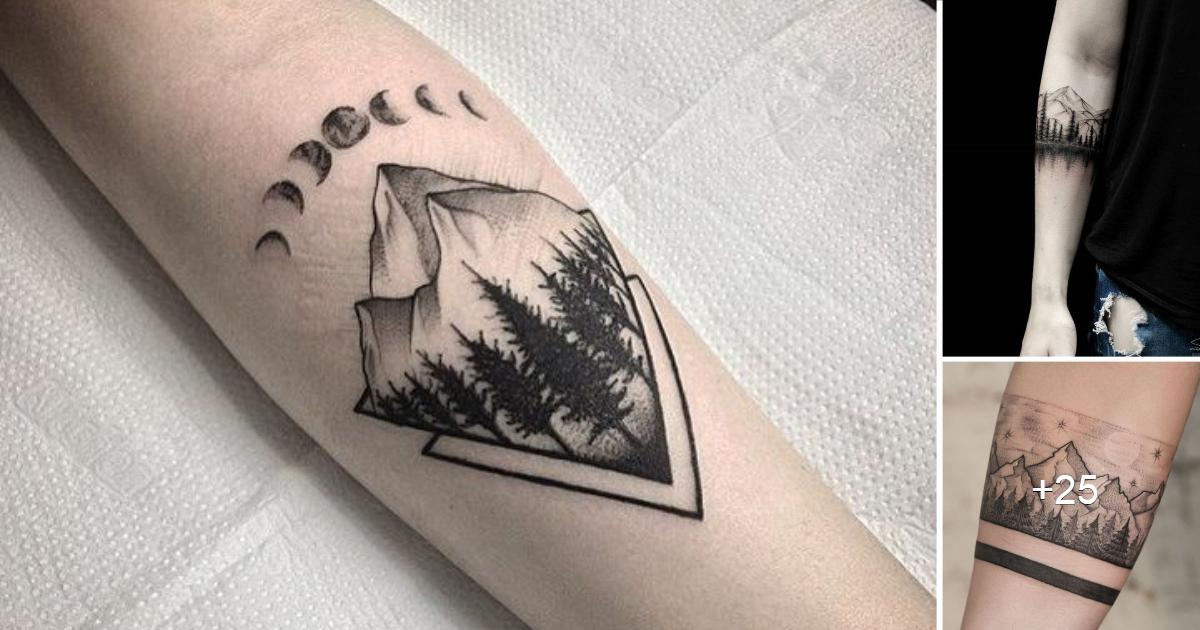 En este momento estás viendo Creativos e Inspiradores Tatuajes de pequeños bosques