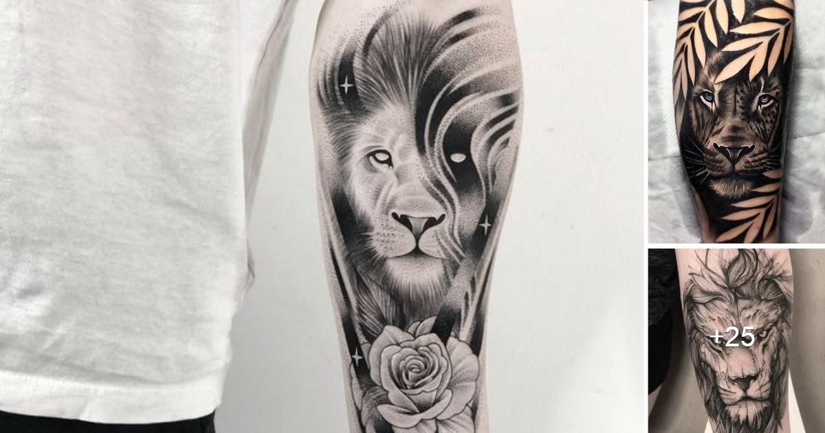 Asombrosos Tatuajes inspirados en Felinos Salvajes