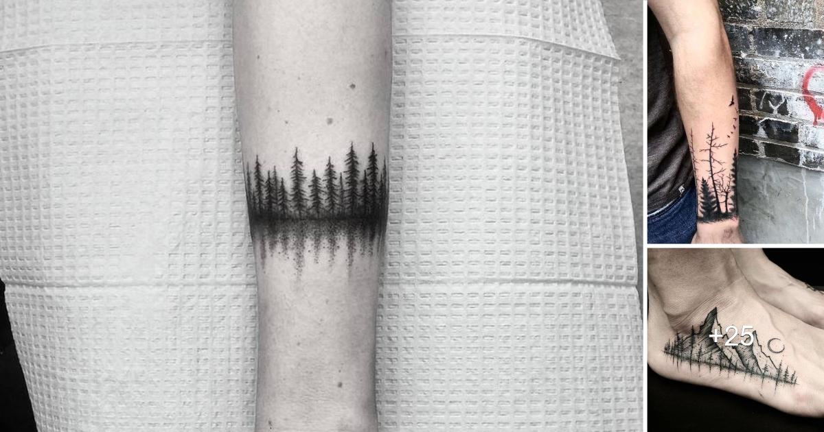 Diseños e Ideas Creativas de Tatuajes Forestales