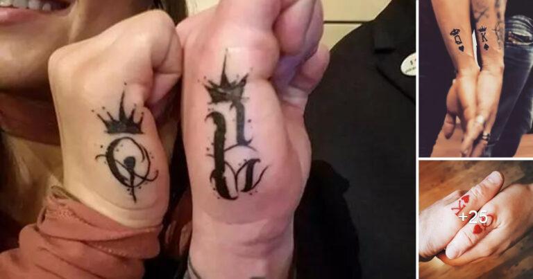 Lee más sobre el artículo Las Mejores Ideas de Tatuajes de Rey y Reina para Parejas
