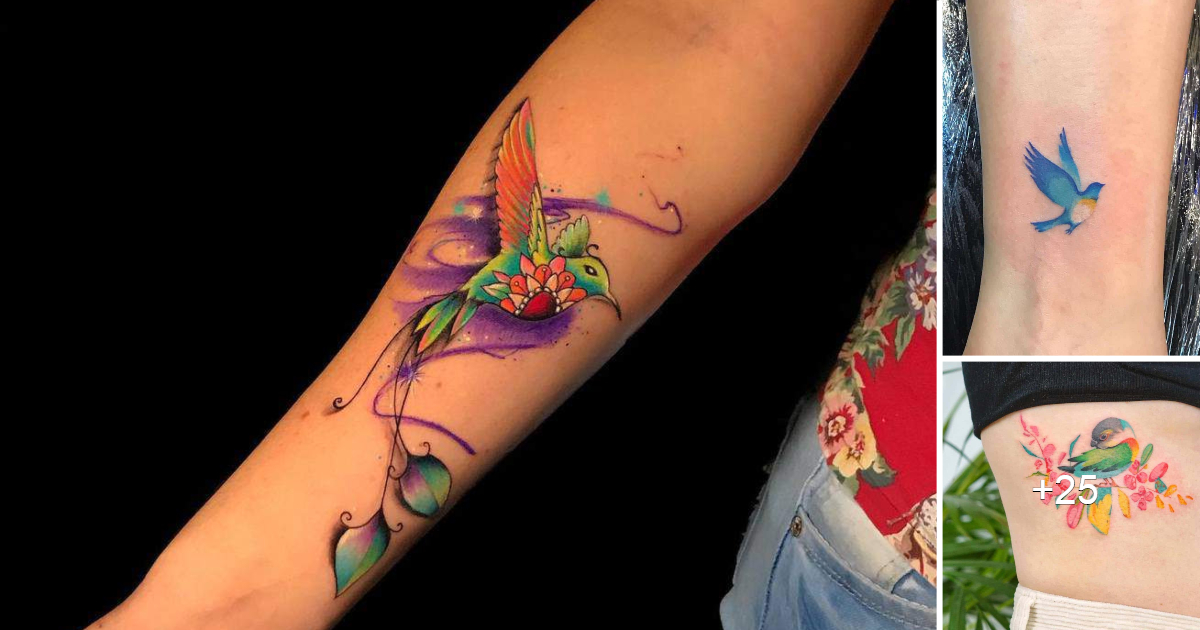 Las 21 mejores ideas de tatuajes de pájaros pequeños