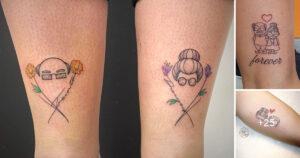 20 Adorables Tatuajes en Honor a los Abuelos