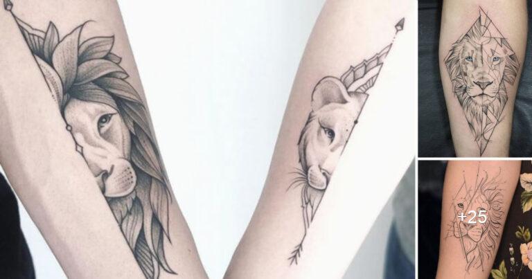 Lee más sobre el artículo Más de 15 Tatuajes de leones que son simplemente geniales