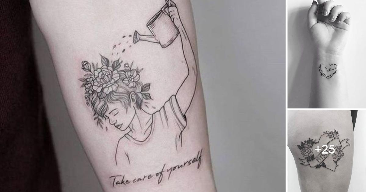20 tatuajes para recordarnos que amar nuestro cuerpo es el mejor regalo que podemos darnos