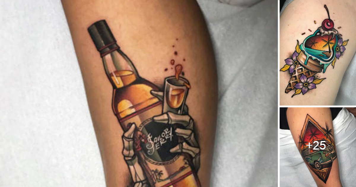 Nuevo Estilo de Tatuaje Tradicional por «EUGENIOS SIMOPOULOS»