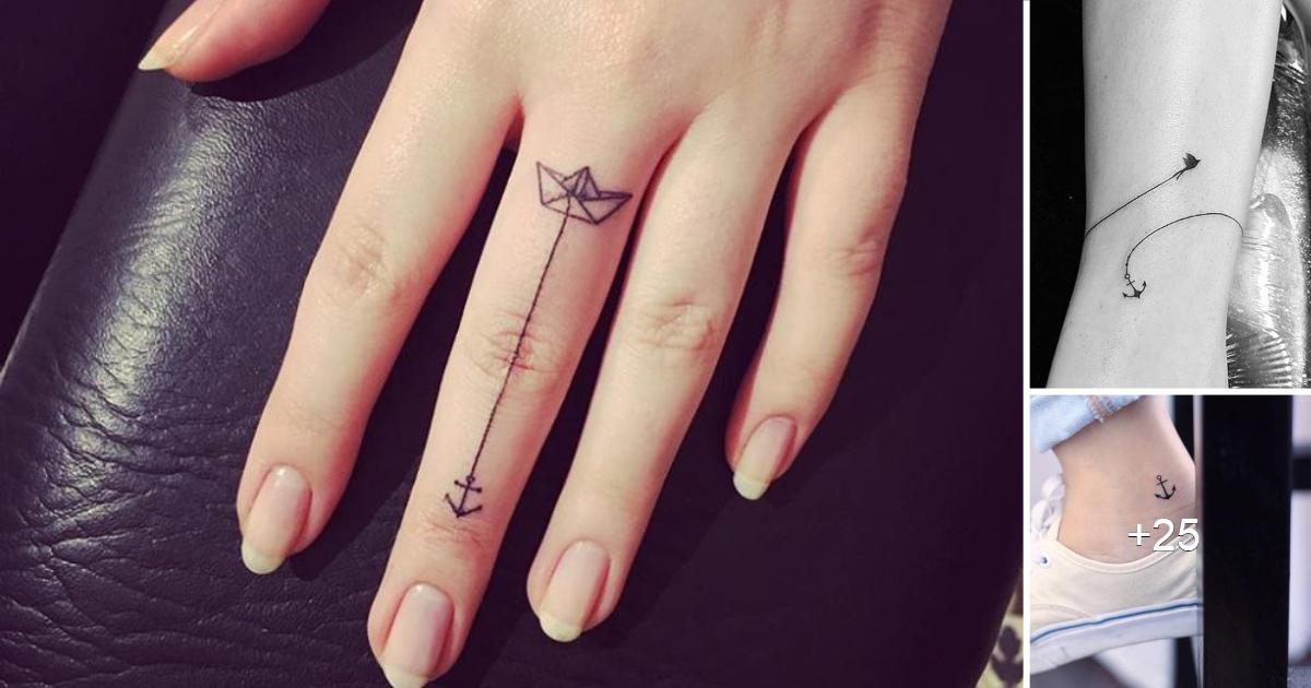 Los 15 mejores tatuajes de ancla para mujeres