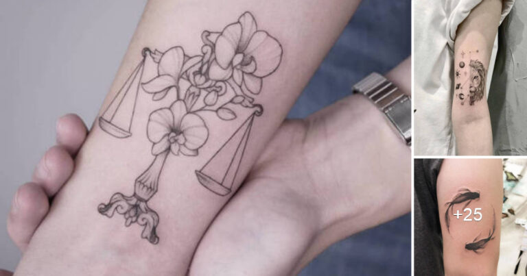 Lee más sobre el artículo 40 Tatuajes Del Zodiaco Que Te Dejaran Deslumbrado