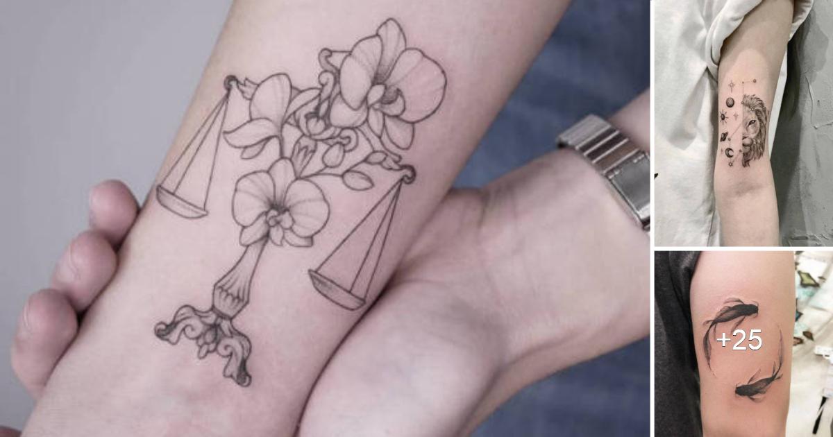 40 Tatuajes Del Zodiaco Que Te Dejaran Deslumbrado