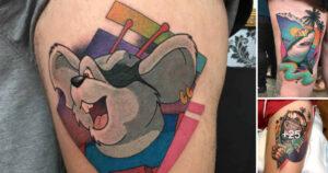 Tatuajes inspirados en los 80s por LEISURE BANDIT