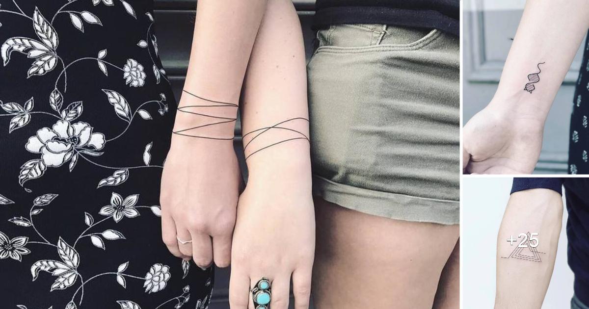 30 Tatuajes Geométricos Minimalistas de «LAURA MARTÍNEZ»