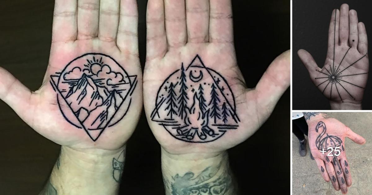 En este momento estás viendo 20 de los mejores tatuajes en las palmas de las manos